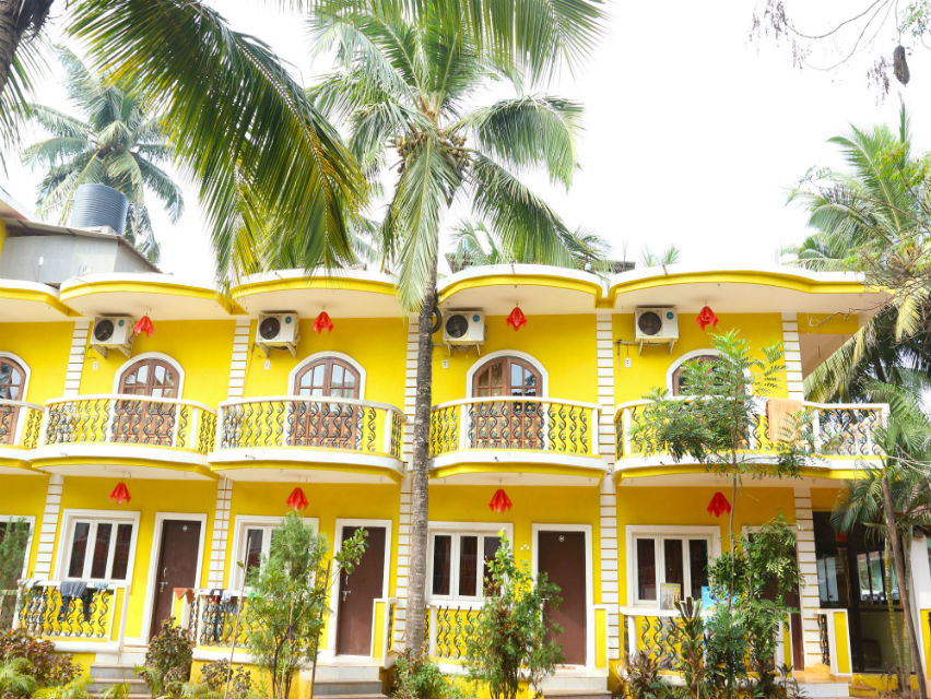 2 star Hotel near Calangute Beach Goa