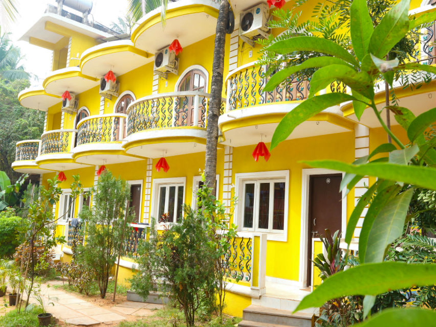 Hotels in north Goa
